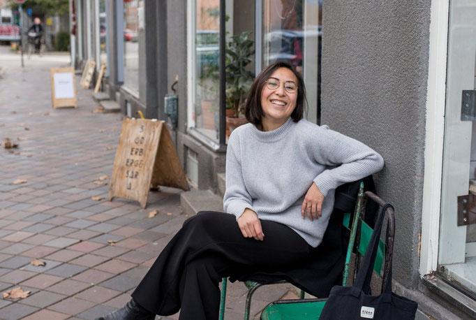 Kimgoesöko als Vorbild von Frauen in Start-ups