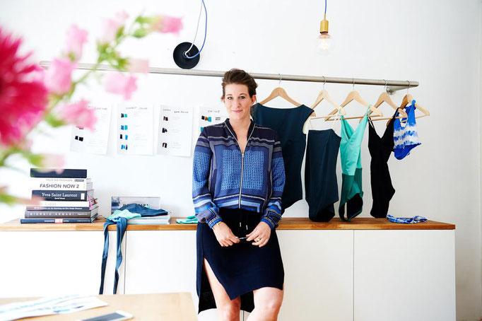 Bademode von Mymarini mit starker Gründerin Mareen als Vorbildfunktion von Frauen im Unternehmertum