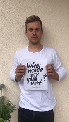 Auch dieser junge Mann stellt die selbe Frage