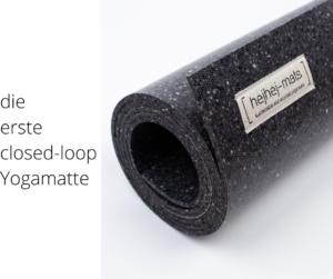 hejhej-mats sind die ersten closed-loop yogamatten.