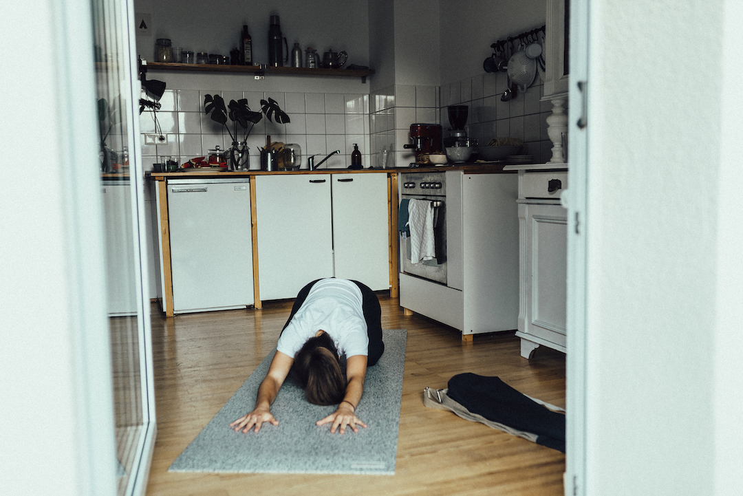Yoga at home – a guide for a strengthening practice