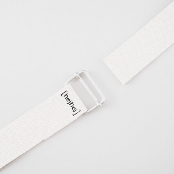 hejhej yoga strap is embroidered by people with disabilities.