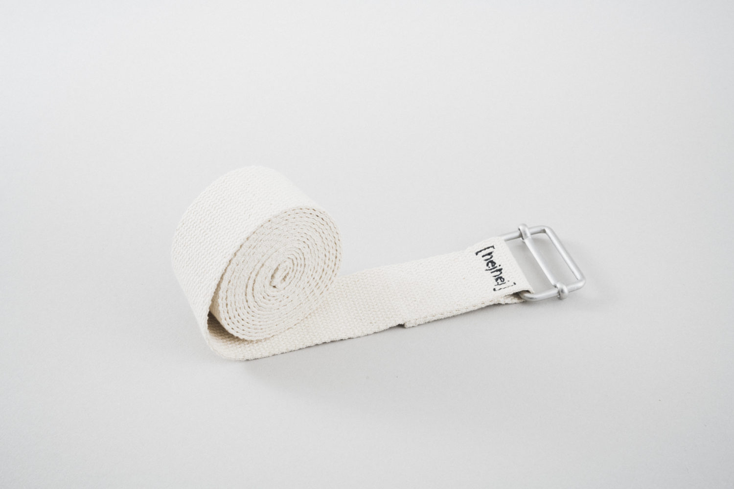Yoga strap made of hemp