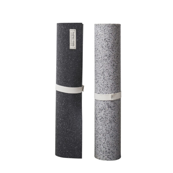 The recycled yoga mats from hejhej are now available as extra long yoga mats.