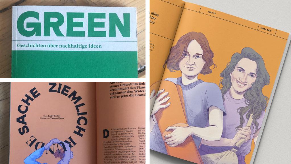 hejhej-mats Erwähnung im Green - Geschichten über nachhaltige Ideen